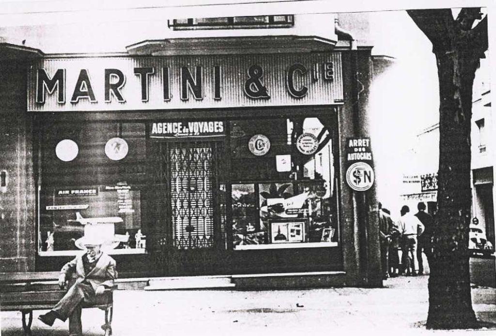 Dans les années 40 (avec arrêt autobus SNCF)