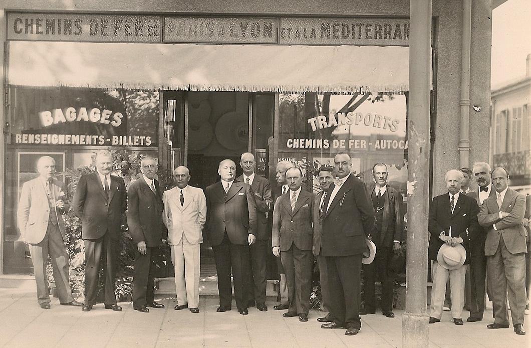 Inauguration de l'agence en 1934
