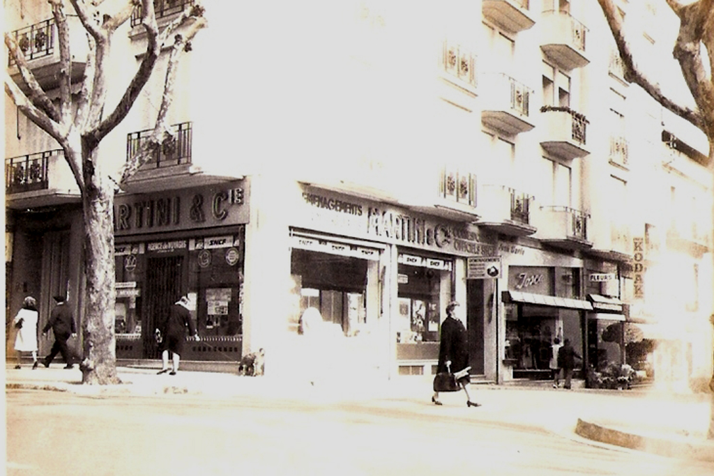 L'agence côté rue Niquet environ années 60