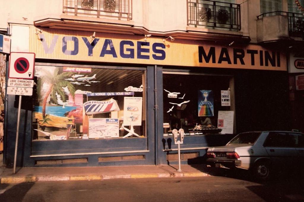 L'agence côté rue Niquet environ années 80