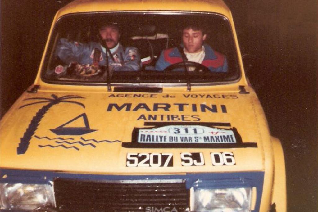 Sponsoring au rallye du var (1989-90)
