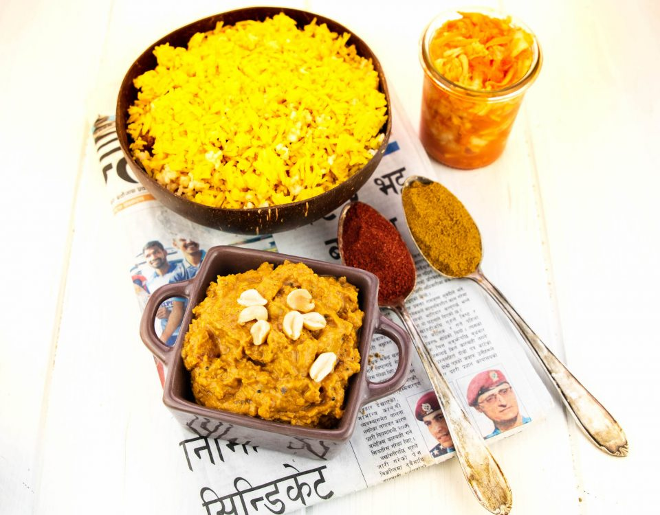 Peshwari curry