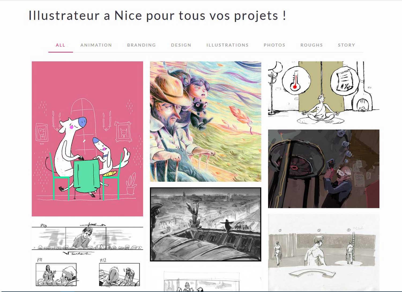 graphiste-nice-radhika--site-web-vivian-jolivet-page-d'accueil