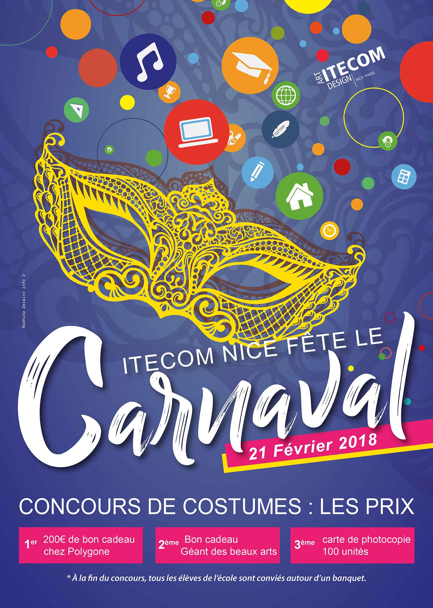 graphiste-radhika-oublicite-nice-affiche-carnaval-itecom-2018