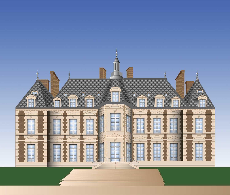 graphiste-radhika-illustration-vectorielle-chateau-seaux
